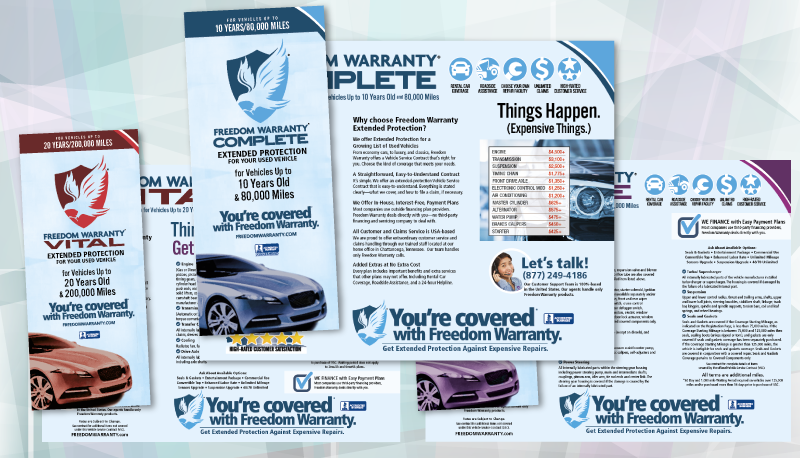 Freedom Warranty Product Brochures