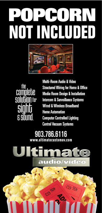 Print ad for Ultimate AV